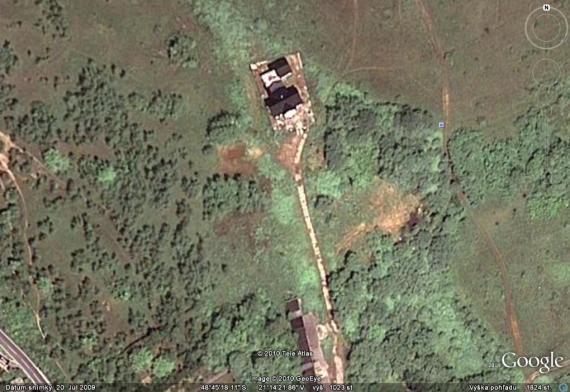 Nové satelitné zábery